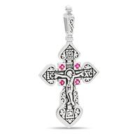 Крест с рубинами