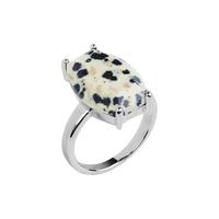 Кольцо с далматином